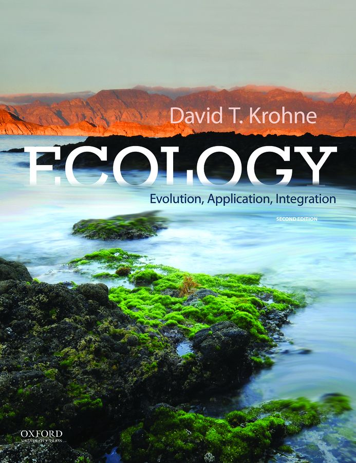 Krohne, Ecology: Evolution, Application, Integration 2e