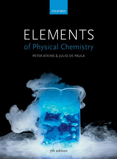 Elements of Physical Chemistry 7e (NA) instructor resources