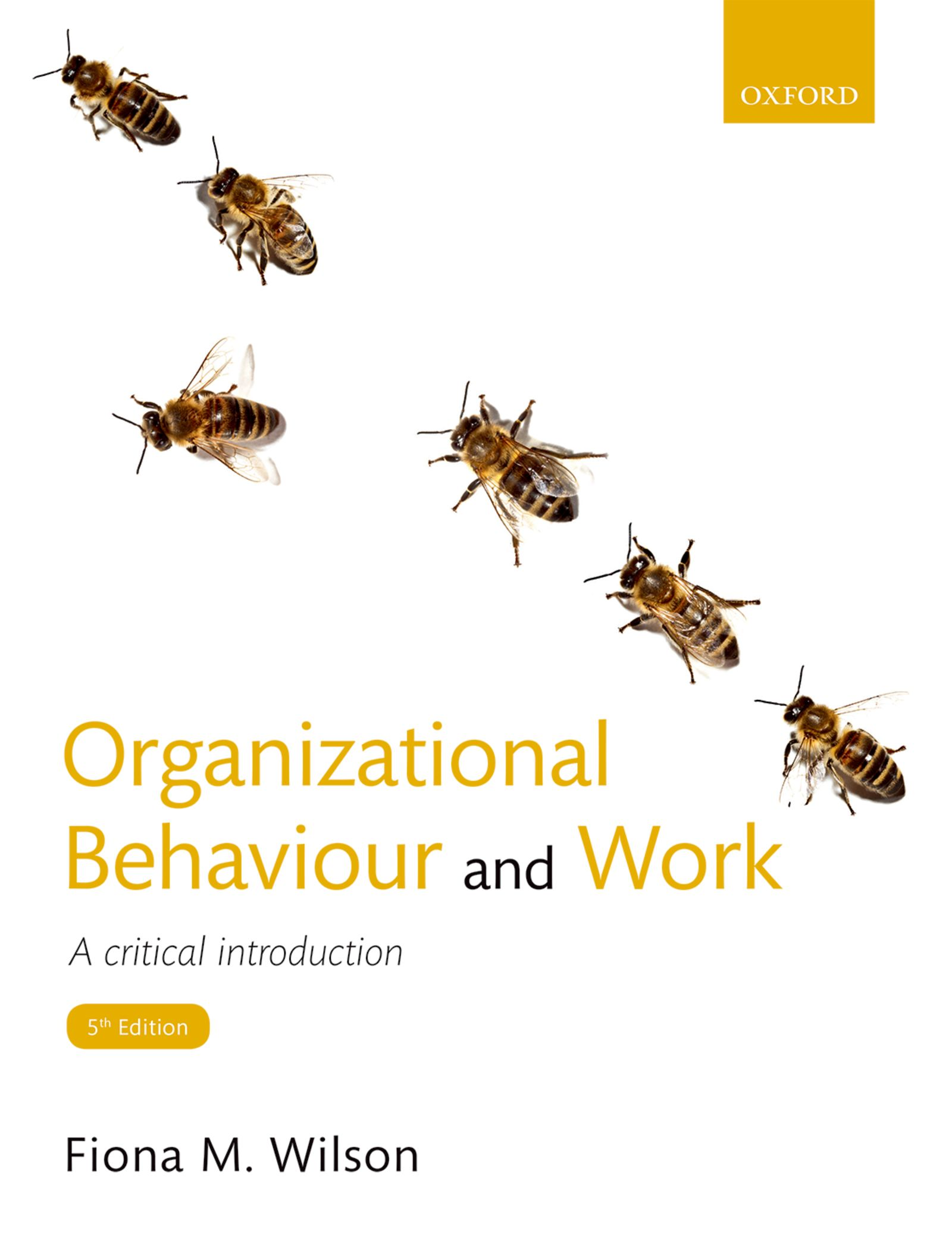 Organizational Behaviour and Work 5e Student Resources