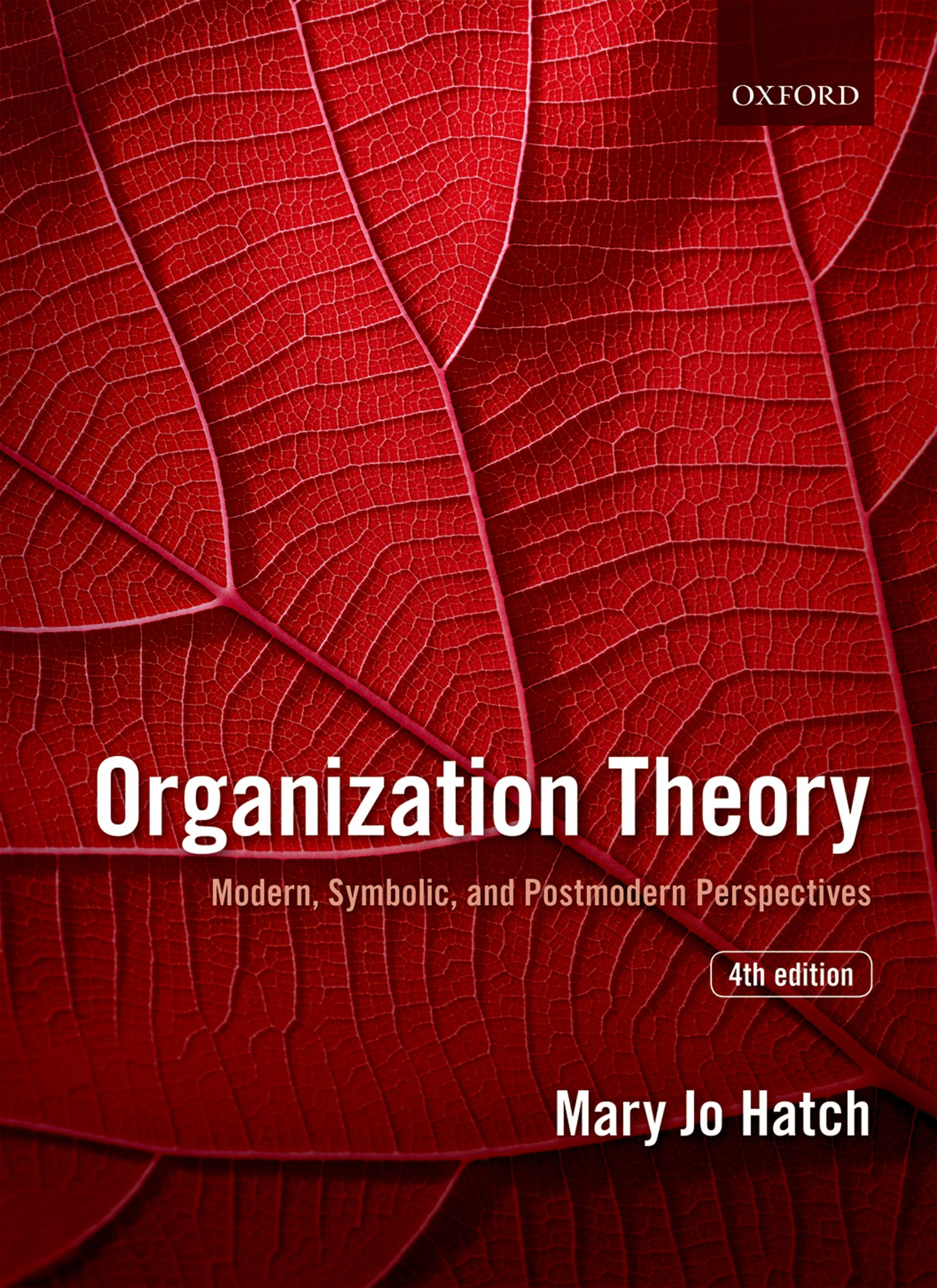 Organization Theory 4e Student Resources