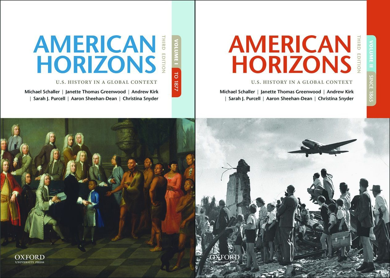 American Horizons: U.S. History in a Global Context 3e Student Resources
