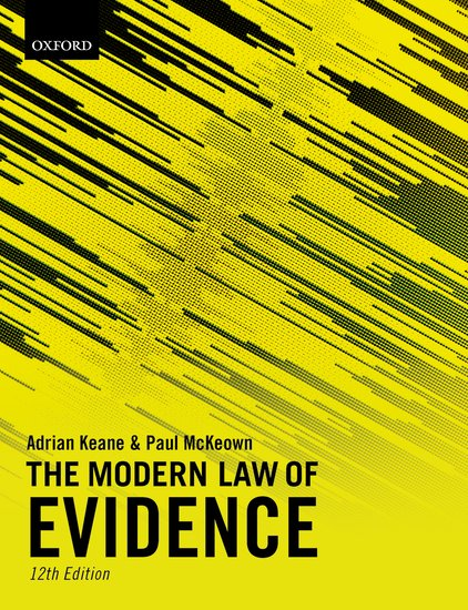 The Modern Law of Evidence 12e