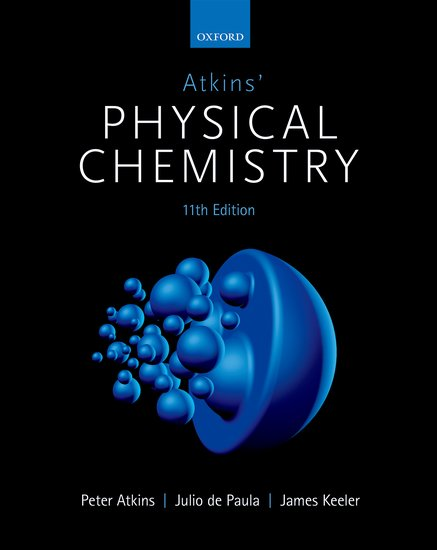 Physical Chemistry 11e - student resources