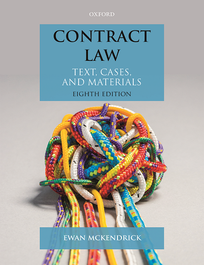 Contract Law: Text, Cases, and Materials 8e