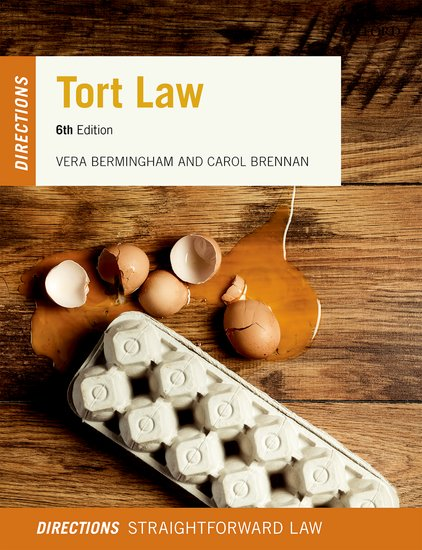 Tort Law Directions 6e lecturer resources