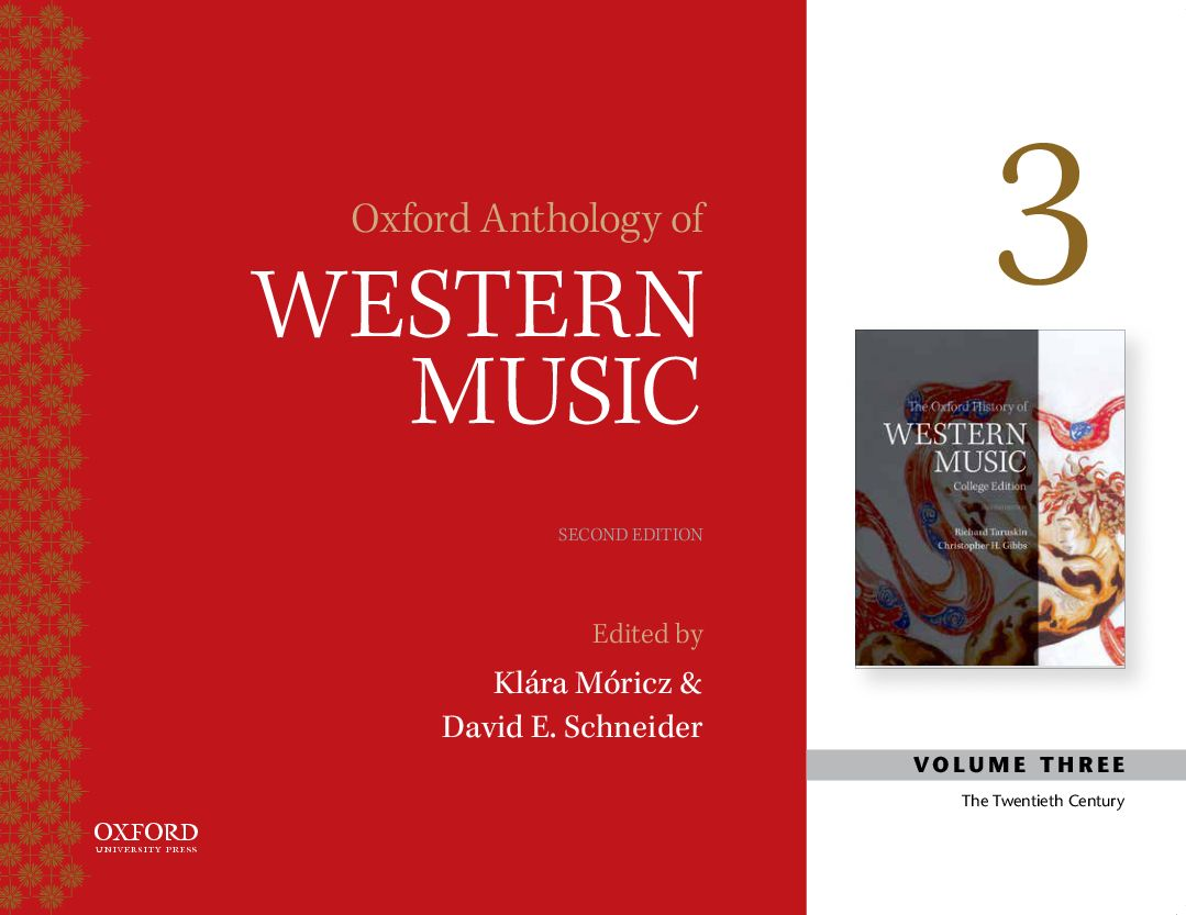 Oxford Recorded Anthology of Western Music 2e Volume III: Twentieth Century