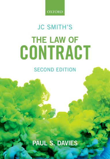 JC Smith's The Law of Contract 2e student resources
