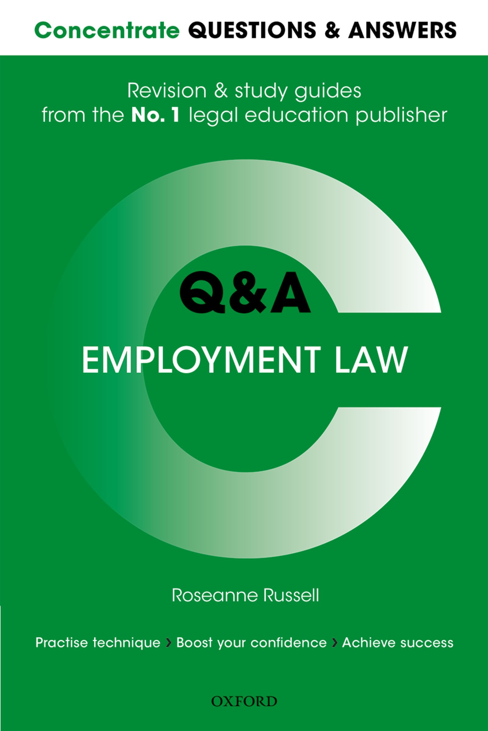 Q&A Employment Law Student resources