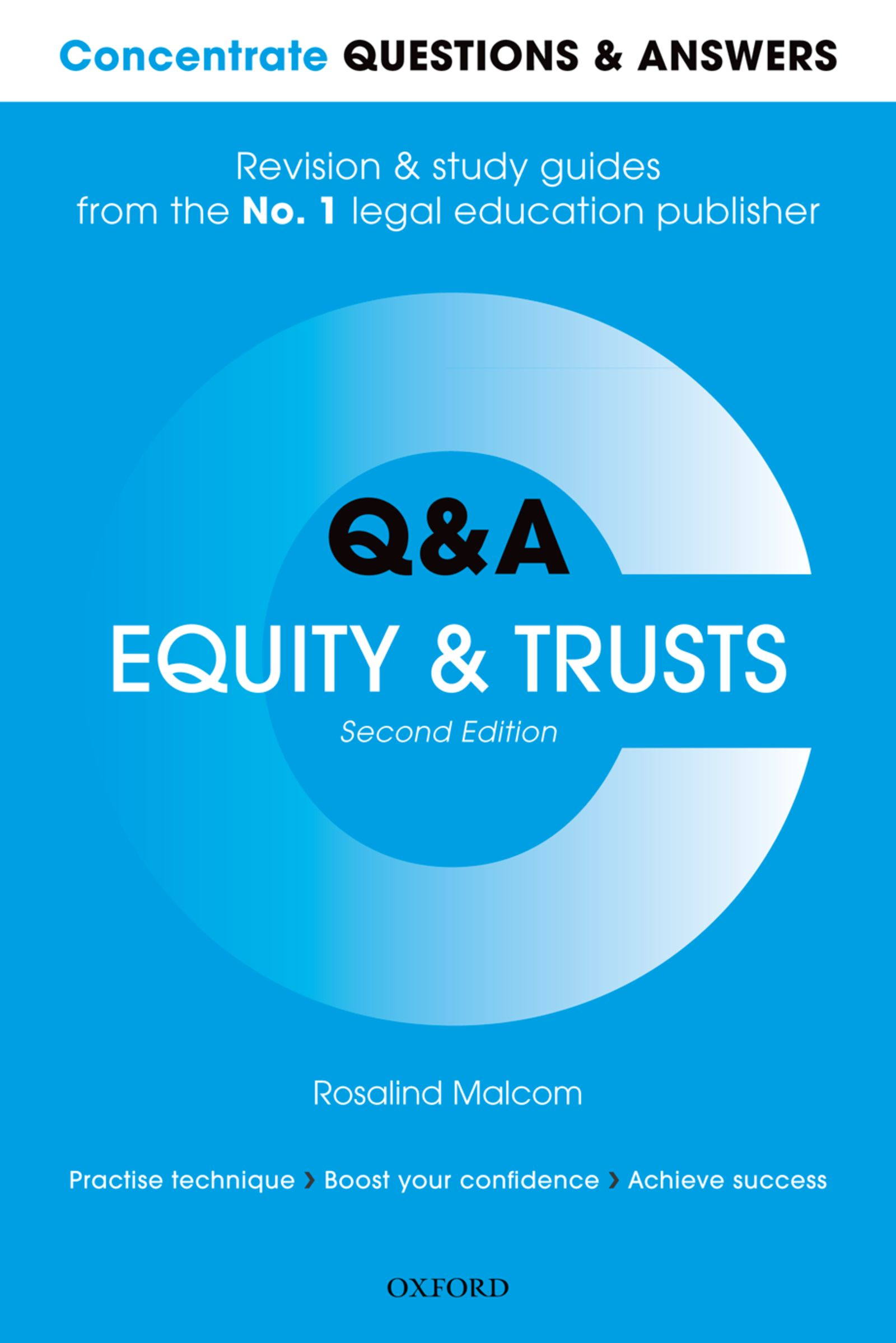 Q&A Equity & Trusts 2e Student resources