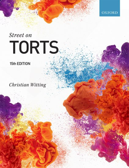 Street on Torts 15e student resources