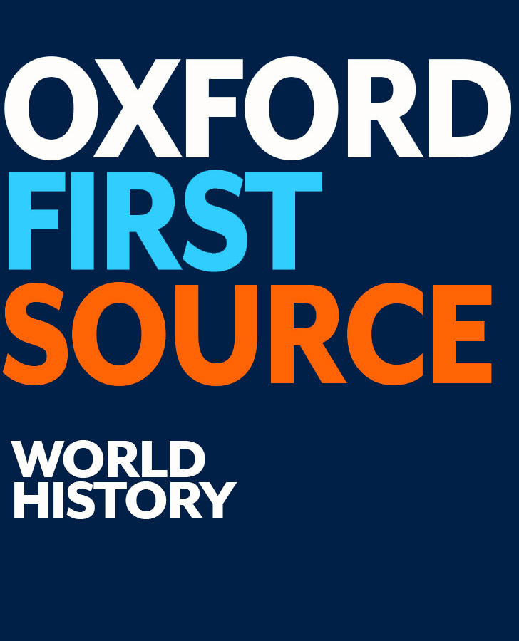 Oxford First Source: World/Western History