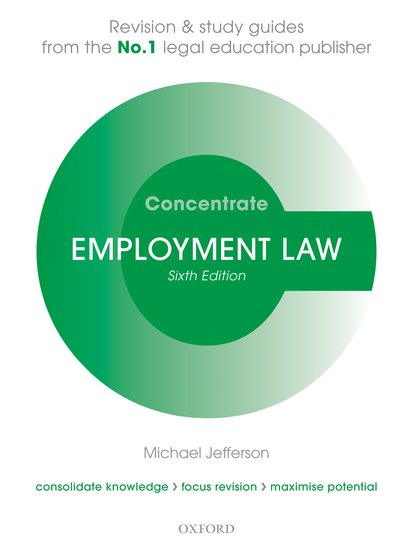 Employment Law Concentrate 6e