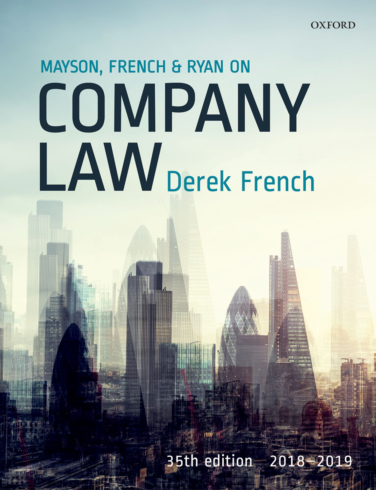 Mayson, French & Ryan on Company Law 2018-2019 Resources
