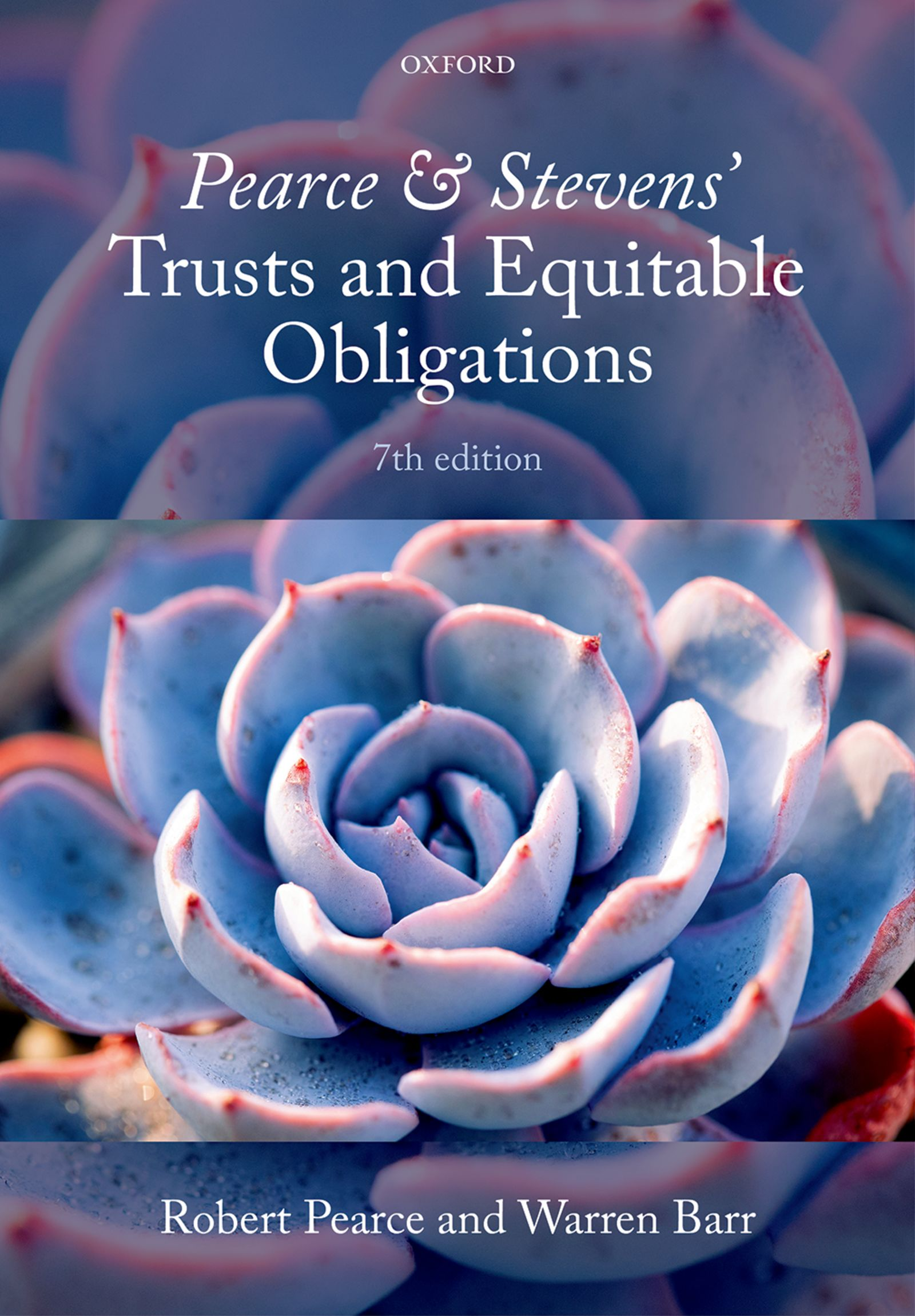 Pearce & Stevens' Trusts and Equitable Obligations 7e Lecturer resources