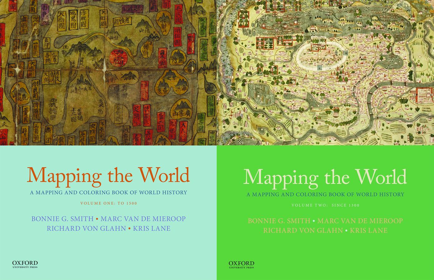 Mapping the World: A Mapping and Coloring Book of World History