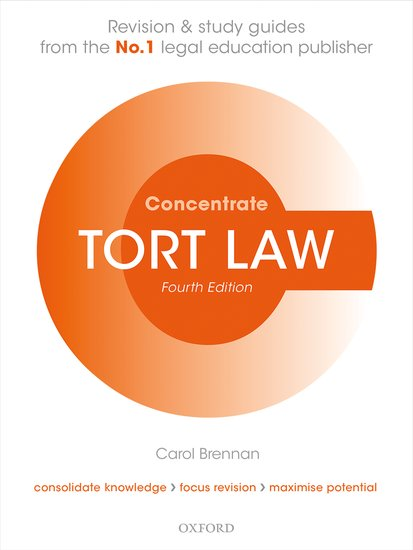 Tort Law Concentrate 4e