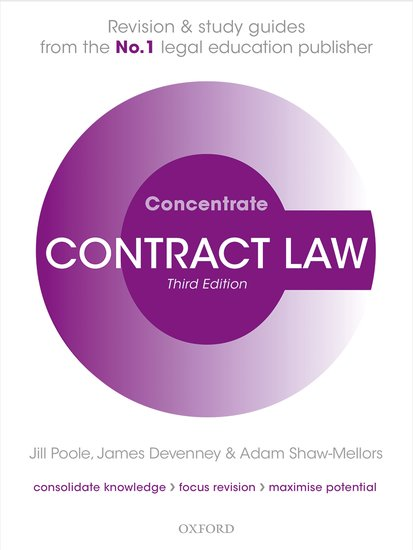 Contract Law Concentrate 3e
