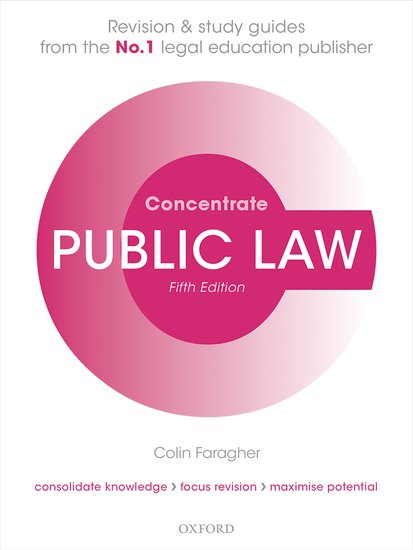 Public Law Concentrate 5e