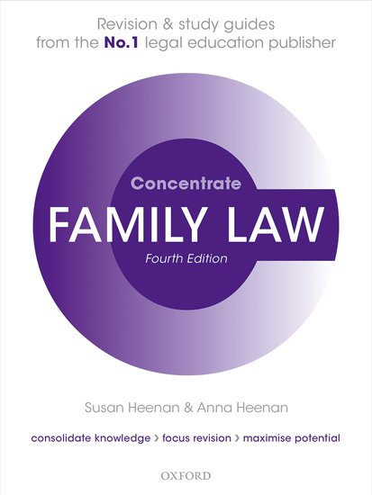 Family Law Concentrate 4e