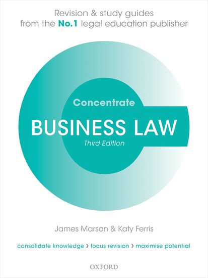 Business Law Concentrate 3e