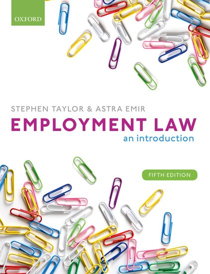 Employment Law: An Introduction 5e