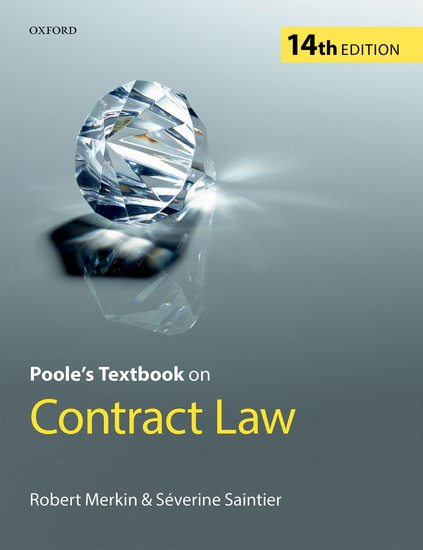 Poole's Textbook on Contract Law 14e