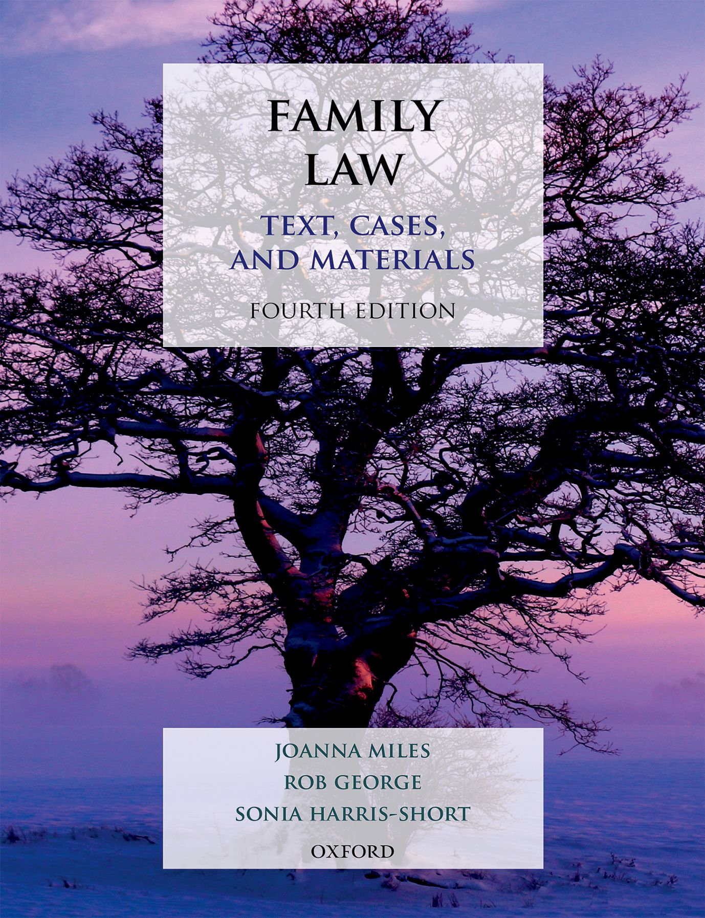 Family Law: Text, Cases, and Materials 4e Student Resources