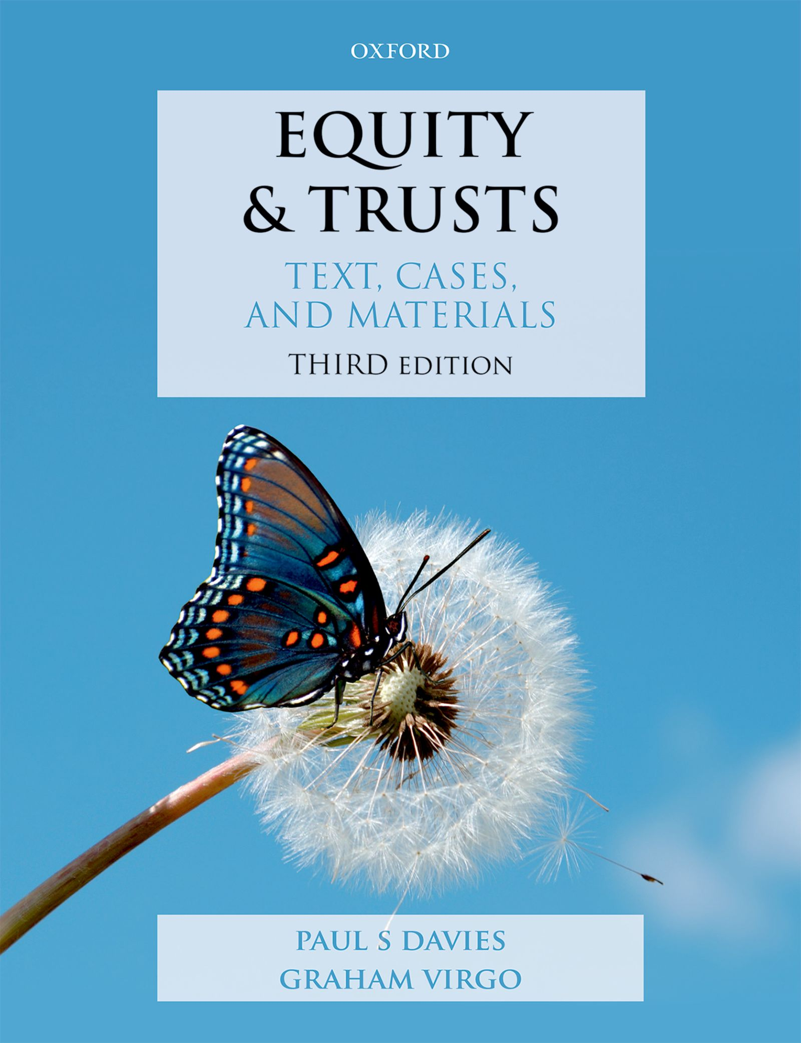 Equity & Trusts: Text, Cases, and Materials 3e Resources