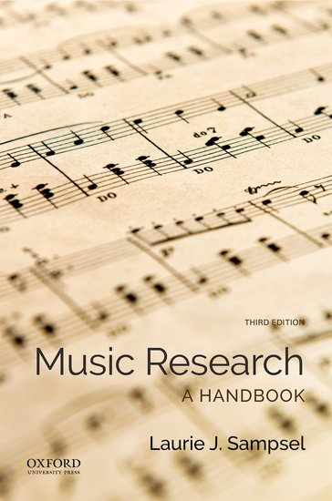 Music Research: A Handbook 3e