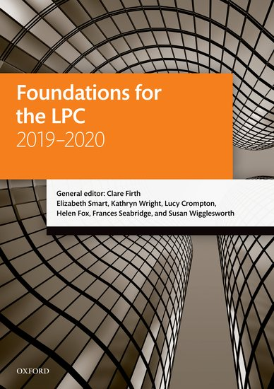 Foundations for the LPC 2019-2020 Resources