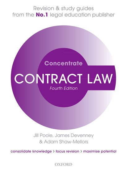 Contract Law Concentrate 4e