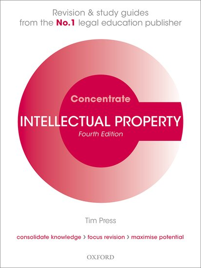 Intellectual Property Law Concentrate 4e