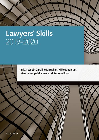 Lawyers' Skills 22e Student Resources