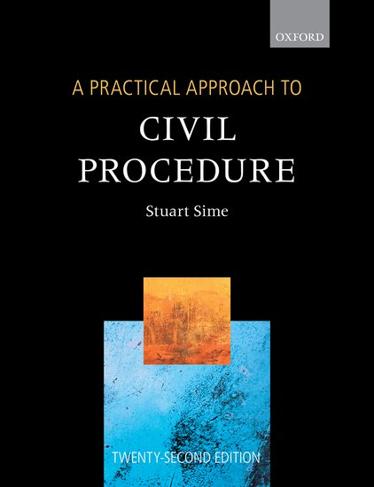 A Practical Approach to Civil Procedure 22e