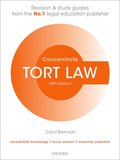 Tort Law Concentrate 5e