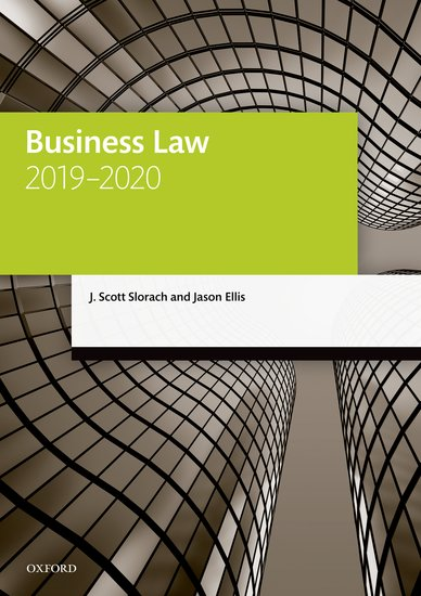 Business Law 2019-2020: Student Resources