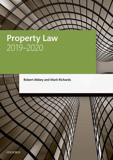 Property Law 2019-2020 Student Resources