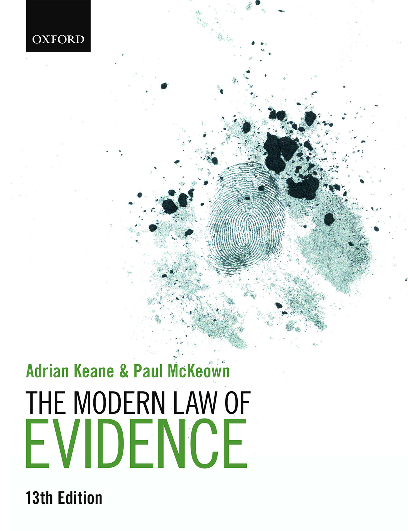 The Modern Law of Evidence 13e Student Resources