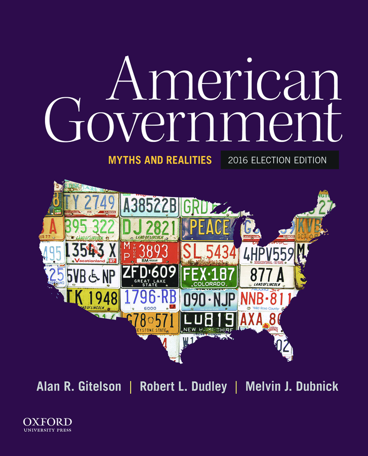American Government: Myths and Realities, 2016 Election Edition Instructor Resources