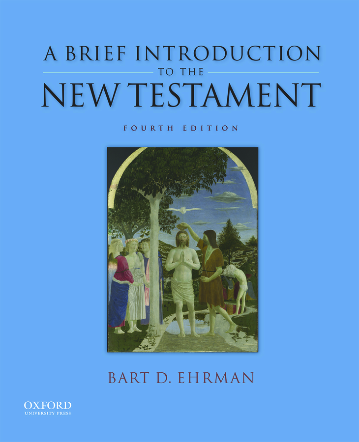 Ehrman, Brief Introduction to the New Testament