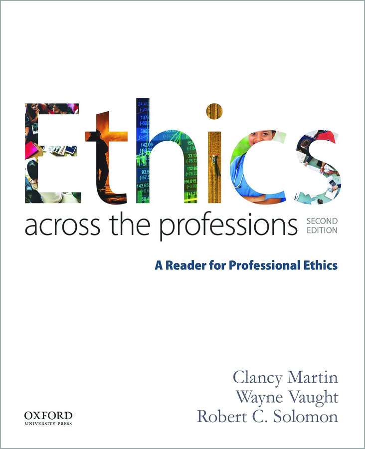 Ethics Across the Professions 2e Instructor Resources