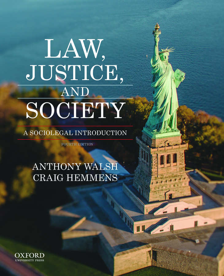 Walsh, Law, Justice & Society 4e
