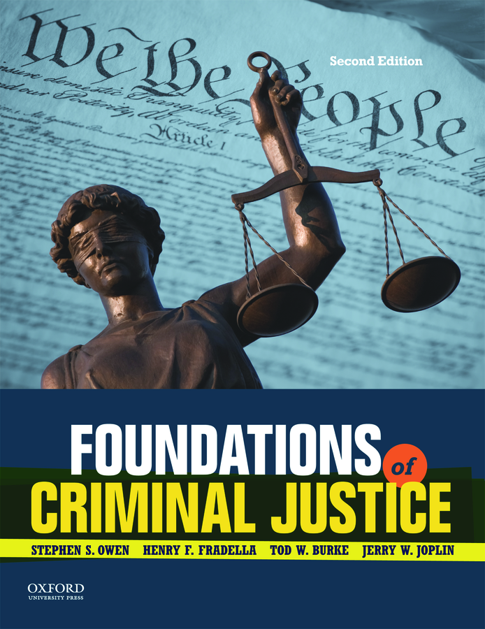 Foundations of Criminal Justice 2e Instructor Resources