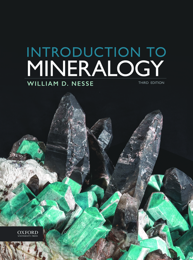Nesse, Introduction to Mineralogy 3e