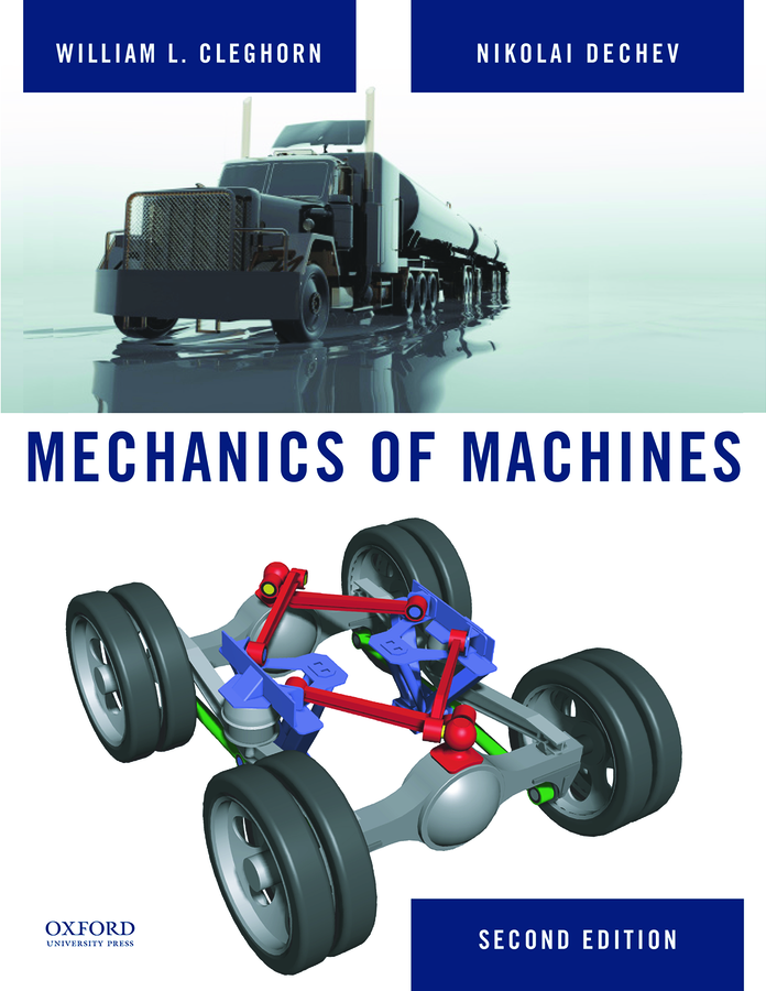 cleghorn mechanics of machines solution manual