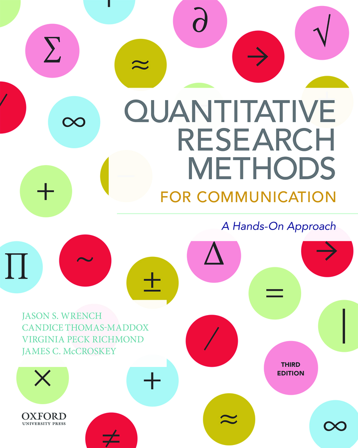Quantitative Research Methods for Communication 3e Instructor Resources