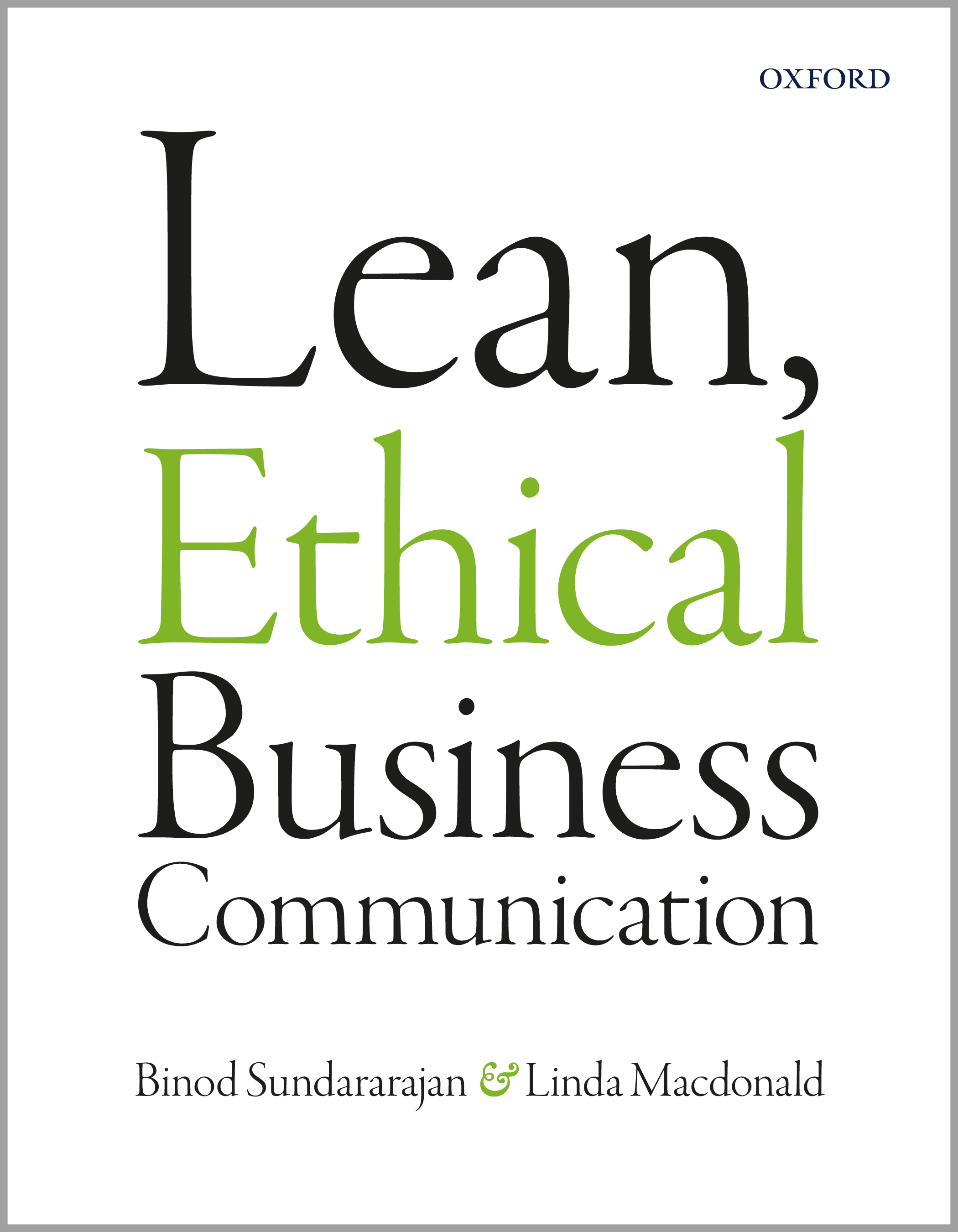Lean, Ethical Business Communication
