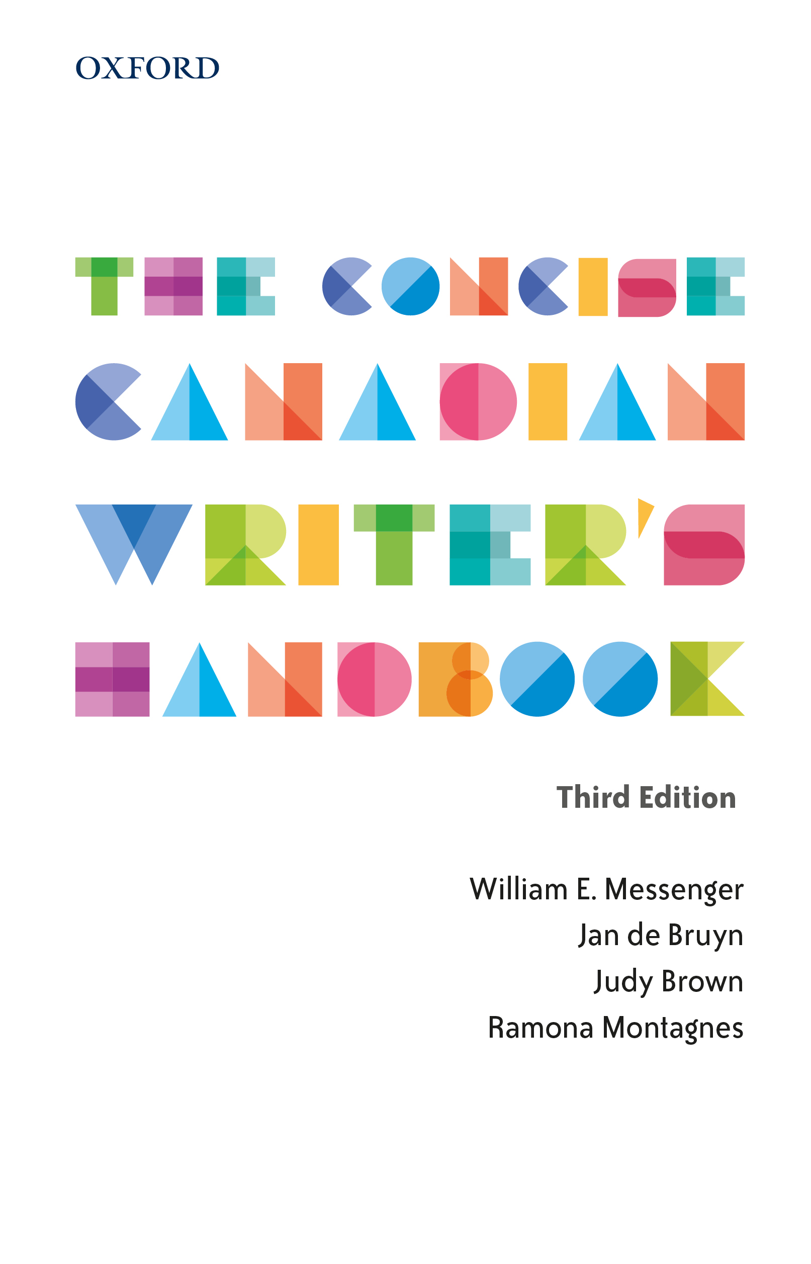 The Concise Canadian Writer's Handbook 3e Instructor Resources